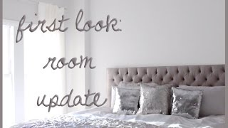 Apartment + Room Updates: Headboard, Paint + Curtains!