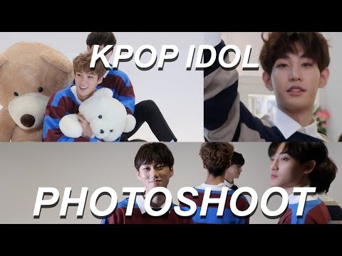 BEING  A PHOTOGRAPHER FOR A KPOP IDOL GROUP - Photoshoot Vlog!
