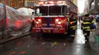 PERSON RESCUE - FDNY RESCUE 1, FDNY ENGINE 26, 54, 65, SQUAD 18, FDNY TOWER LADDER 4, 7, LADDER 4.