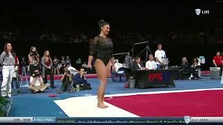 Kyla Ross 2018 Floor at PAC-12 Championships 9.875