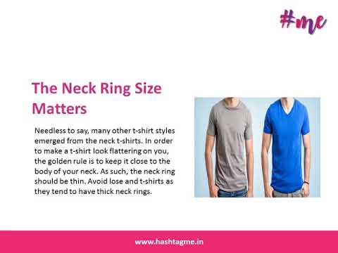 5 Secrets to Look Awesome In A T Shirt | Hashtagme