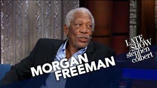 Morgan Freeman Likes The Same Sci-Fi As Stephen