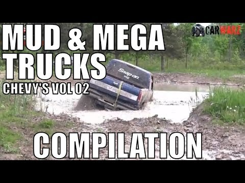 CHEVY MUD AND MEGA TRUCK MUD COMPILATION 2018 VOL 02
