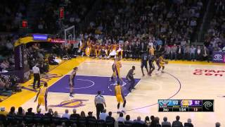 Xavier Henry POSTERIZES Jeff Withey! DUNK OF THE YEAR (Lakers Vs. Pelicans) HD