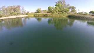 Quanum Nova over Lake Skinner CA by Bapu Madhu on YouTube
