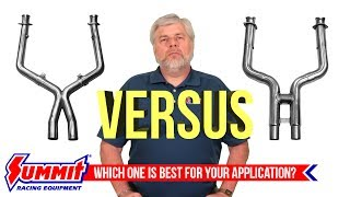 Exhaust H-Pipes vs. X-Pipes: What You Need to Know