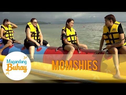 The momshies goes for an exciting banana boat ride | Magandang Buhay