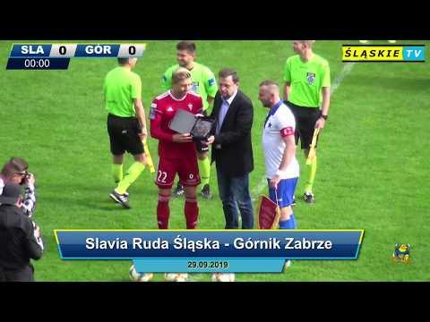 Slavia Ruda Śląska - Górnik Zabrze 1:8