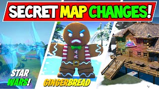 *NEW* Fortnite Christmas MAP CHANGES & Hidden Easter Eggs! (v11.30 Week 9 Update)