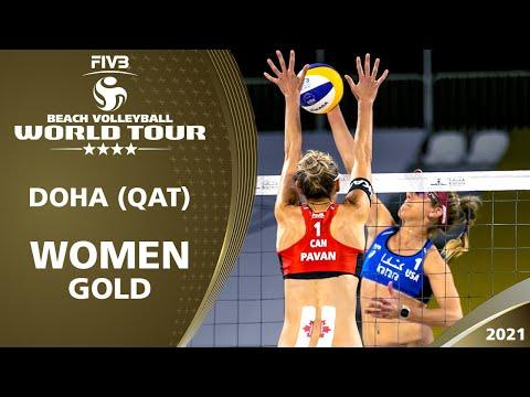 Women's Gold Medal: Alix/April vs. Pavan/Melissa | 4* Doha 2021