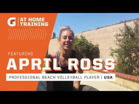 Gatorade At-Home Training: April Ross