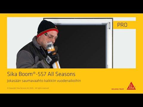 Sika Boom®-557 All Seasons - joka sään pistoolivaahto eristää ja tiivistää