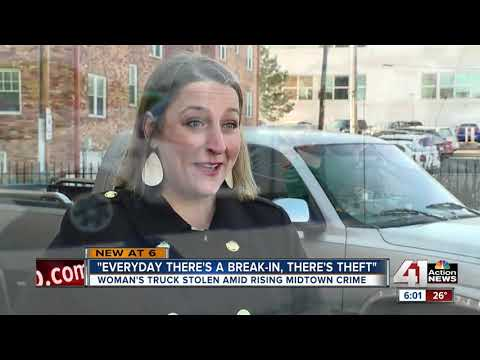 Midtown Kansas City woman who had truck stolen frustrated by crime