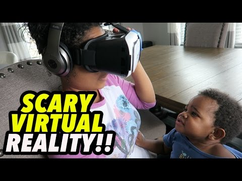 SCARY VIRTUAL REALITY!!