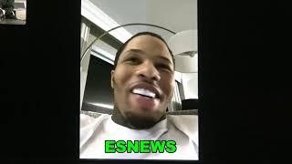 GERVONTA DAVIS RESPONDS TO LEO SANTA CRUZ - DONT TEST MY POWER, WILL BE AN EARLY NIGHT EsNews Boxing
