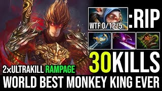World Best Monkey King Ever - Epic Pro Mid MK RAMPAGE 2xUltrakill 30Kills in 22Min By Jimme Dota 2