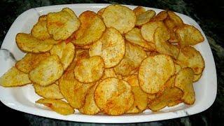 உருளைக்கிழங்கு சிப்ஸ் செய்வது எப்படி?/ How To Make Potato Chips / Indian Recipe