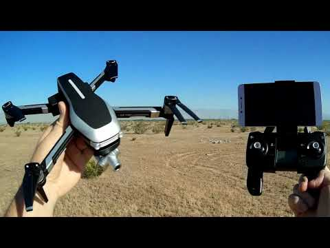 L109 Pro GPS 2 Axis Gimbal FPV Camera Drone Flight Test Review