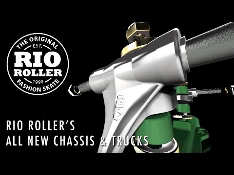 Video RIO ROLLER Quad Roller KICKS (large sizes) Black