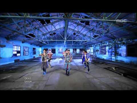 BTOB - WOW, 비투비 - 와우, Music Core 20120915