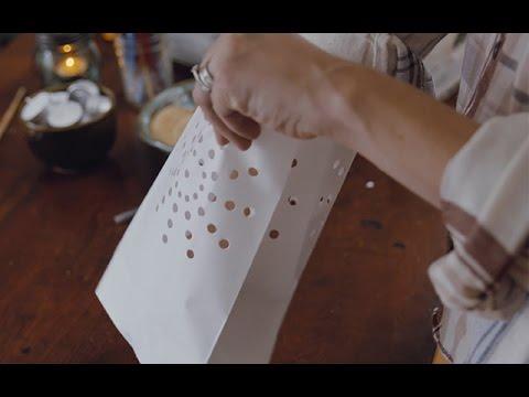 How to Make a Luminaria