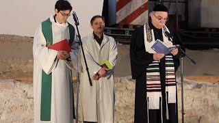 Yahudi, Hristiyan ve Müslüman din adamları şiddete karşı dua etti