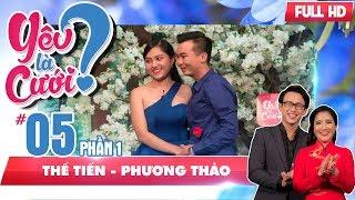 Quang Bảo - Cát Tường bất ngờ với mối tình 'Chị ơi! Anh yêu em' | Thế Tiến - Phương Thảo | YLC #5 🤗