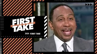 Stephen A. Smith says he used to wear baggy suits until Dwyane Wade called him out 😂 | First Take