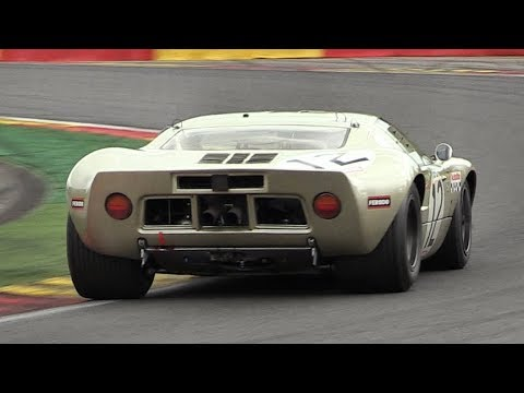 Ford GT40 Mk1 Sound On Track! – Accelerations, Downshifts  Fly Bys
