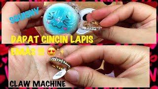 CAPIT CINCIN LAPIS EMAS!! SQUISHY # CLAW MACHINE # 夾娃娃
