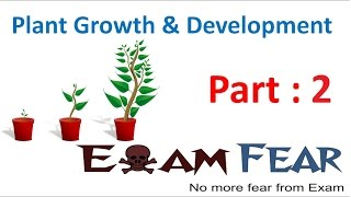 Plant Growth & Development Biology Cbse Class 11 Biology Xi