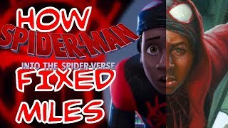 How Into the Spider-Verse FIXED Miles Morales