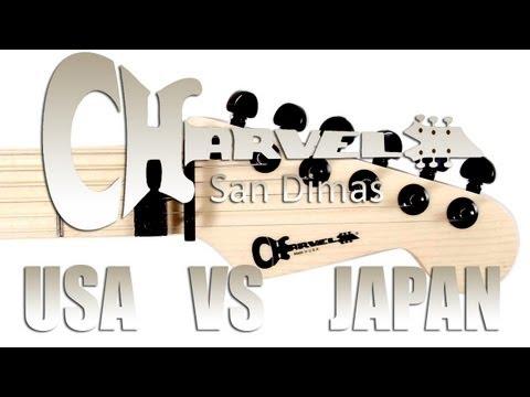 Charvel USA VS Charvel JAPAN ! - Neogeofanatic