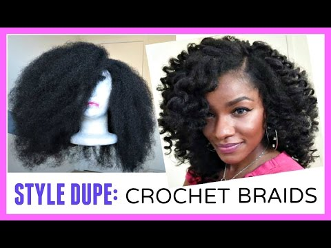 Crochet Hair Unit : CROCHET BRAIDS ALTERNATIVE: Marley Hair Wig in 30 Minutes!