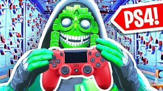 Trying Fortnite DEATH RUN on a CONTROLLER!