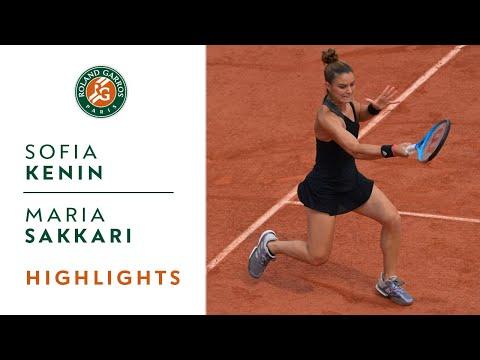 Sofia Kenin vs Maria Sakkari - Round 4 Highlights I Roland-Garros 2021