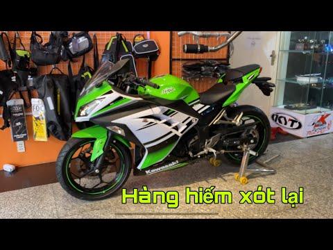 Kawasaki Ninja300 Bản Kỷ Niệm 30 Năm odo 4000km Hàng Hiếm Theo Chủ Homestay Đà Lạt | MinhBiker