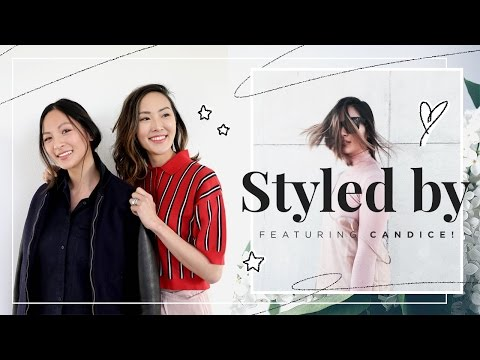 Styled by Chriselle | 5 Work Looks ft. Candice