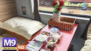 [M9] #42: Ăn cơm máy bay trên tàu lửa Đà Nẵng-Huế | Yêu Máy Bay