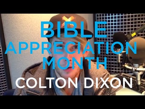 Colton Dixon: Bible Appreciation Month On The Message // SiriusXM - Smashpipe Nonprofit