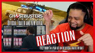 GHOSTBUSTERS: AFTERLIFE - Trailer & Mini-Pufts Character Reveal Reaction