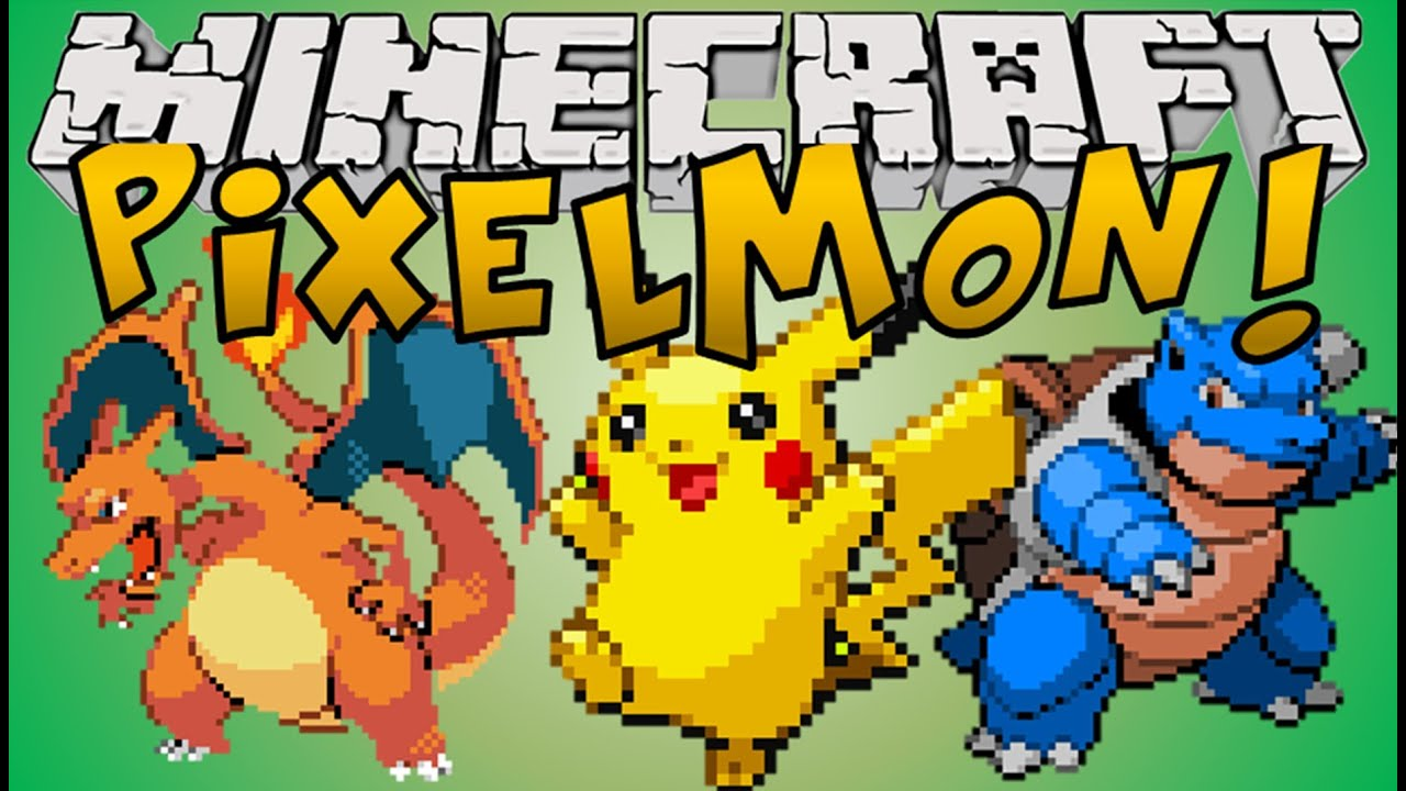 Minecraft Mods Pixelmon Pokemon In Minecraft Youtube