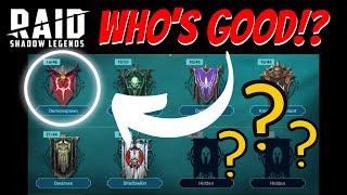 Who to use!?!  Demonspawn Edition   Raid: Shadow Legends