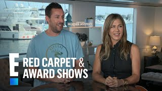 Adam Sandler Claims Jennifer Aniston Snores! | E! Red Carpet & Award Shows