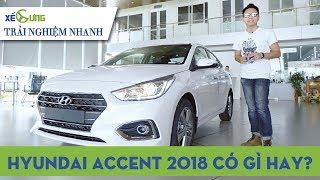 [Trải nghiệm nhanh] Hyundai Accent 2018 có đủ tầm cạnh tranh Honda City và Toyota Vios? |4K|Xế Cưng|