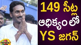 YS Jagan Is Leading With 149 Seats In AP Assembly Elections 2019   Election Results   Mango News