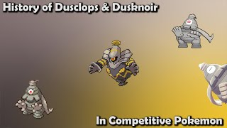 How GOOD was Dusclops & Dusknoir ACTUALLY? - History of Dusclops & Dusknoir in Competitive Pokemon