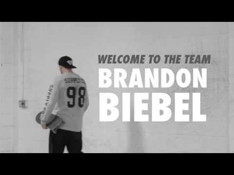 Brandon Biebel Welcome To The Team 2