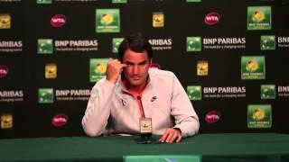 2015 Roger Federer Final Press Conference