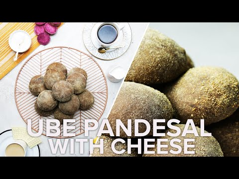 Ube Pandesal with Cheese ? Tasty Recipes